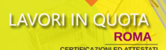 Lavori in quota Roma e risparmio ristrutturazioni edilizie