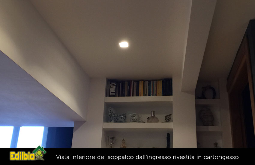 rivestimento parte inferiore con fari a led