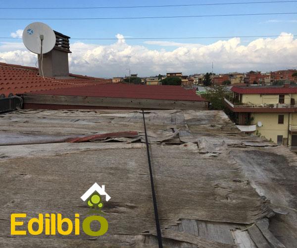 riparazione tettoia roma sostituzione compensato con abete 20mm