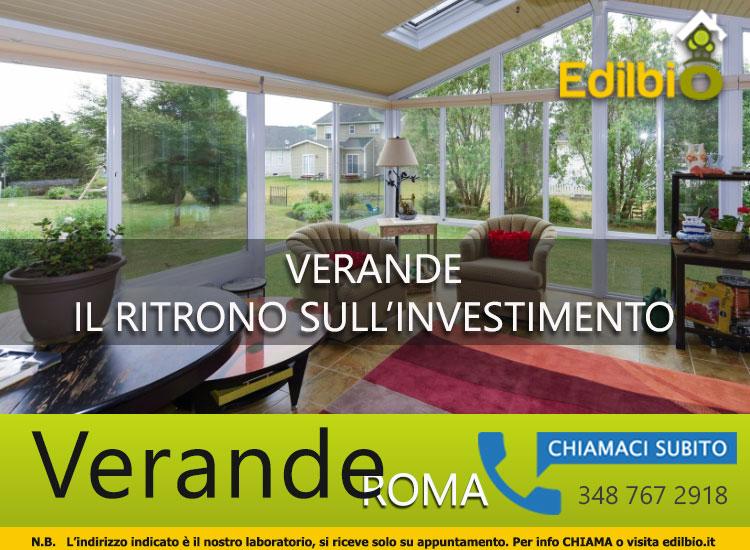 verande roma rientro investimento