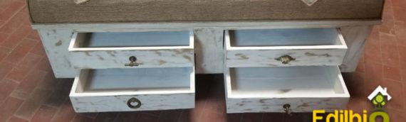 Realizzazione di una panca in legno artigianale