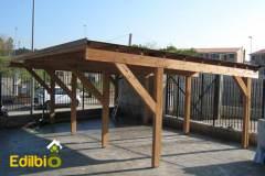 Realizzazione-Carport-in-legno-Roma