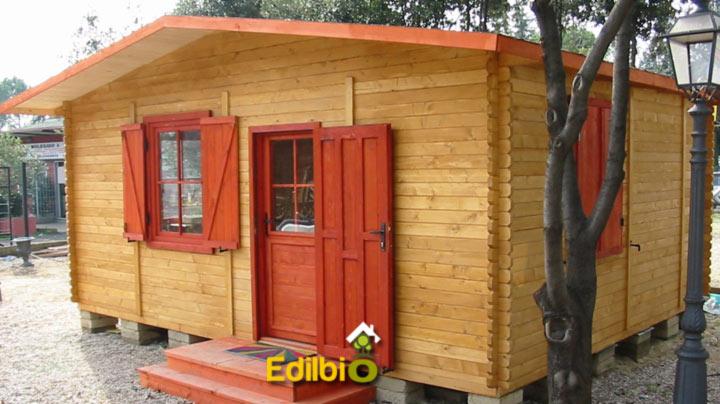pefabbricato in legno Realizzato a roma in via nomentana da Edilbio