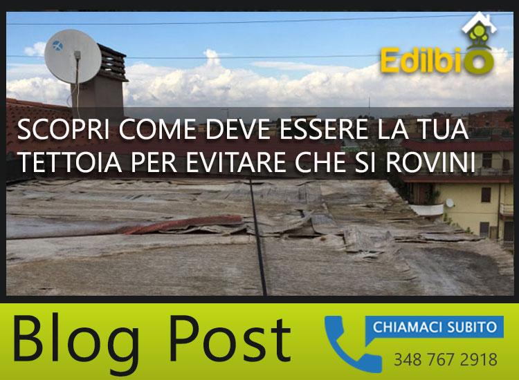 Riparazione dei danni causati dal vento alle tettoie a roma