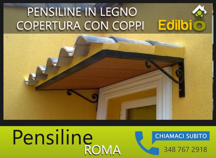 pensiline in legno per finestre roma edilbio 348 767 2918