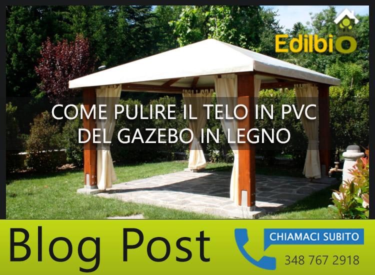 gazebo in legno roma con copertura telo in pvc
